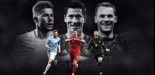 Νόιερ, Λεβαντόφσκι και Ντε Μπρόινε οι υποψήφιοι για τον κορυφαίο της σεζόν