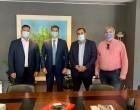 Συνάνταση Κατσαφάδου με Θεοχάρη, Βεσυρόπουλο και Προέδρους Εμπορικών Συλλόγων Πόρου – Τροιζηνίας