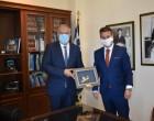 Σαλαμίνα- Παναγόπουλος: Συναντήθηκε τον Υπ. Εσωτερικών, Π. Θεοδωρικάκο
