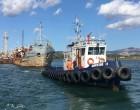 """Απομακρύνθηκε οριστικά από τον κόλπο της Ελευσίνας το χαρακτηρισμένο ως ναυάγιο Φ/Γ """"ΕΛΕΦΑΝΤΑΣ"""""""