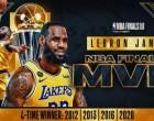 MVP των τελικών ο Λεμπρόν Τζέιμς