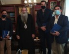 Εμπορικός Σύλλογος Πειραιά: Συνάντηση με τον Μητροπολίτη Πειραιώς Σεραφείμ