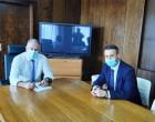 Συνάντηση Υπουργού Εσωτερικών – Δημάρχου Σαλαμίνας / Πρόγραμμα «ΑΝΤΩΝΗΣ ΤΡΙΤΣΗΣ» & χρηματοδότηση 550.000,00 ευρώ
