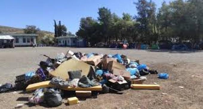 Δομή προσφύγων στο Σχιστό: YΓΕΙΟΝΟΜΙΚΗ «BΟΜΒΑ» -«Μπαλάκι» ευθυνών μεταξύ Δήμων και Υπουργείου -«ΕΚΒΙΑΖΟΥΝ» καταστάσεις με τα σκουπίδια;