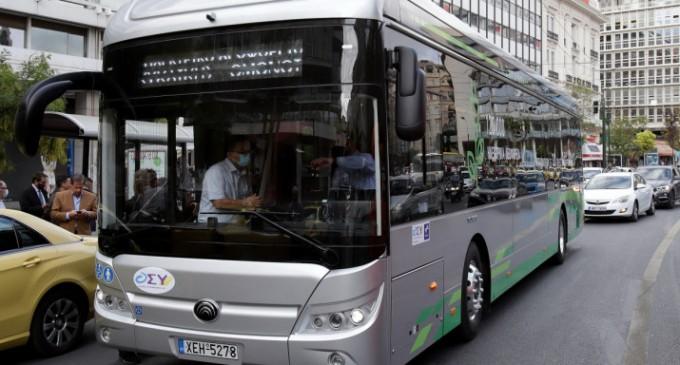 Ενα ηλεκτρικό λεωφορείο βγαίνει στους δρόμους της Αθήνας τις επόμενες ημέρες