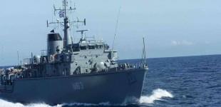Ναρκοθηρευτικό του Πολεμικού Ναυτικού συγκρούστηκε με πλοίο στον Πειραιά – Δύο τραυματίες