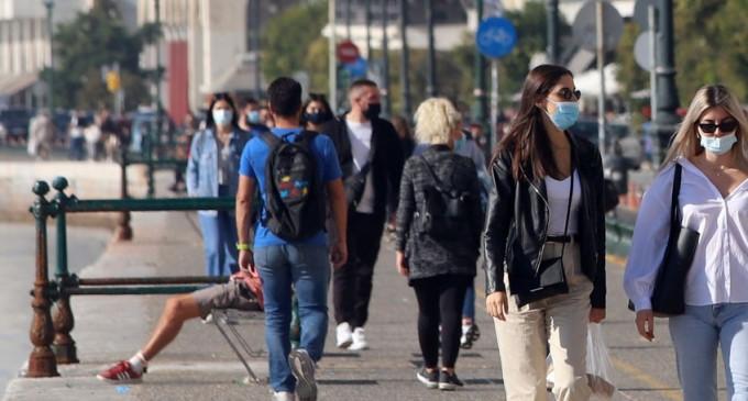 Πού εντοπίζονται τα 1.211 νέα κρούσματα: 335 στην Αττική, 275 στη Θεσσαλονίκη
