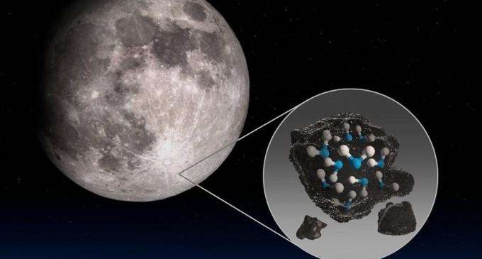 Τεράστια ανακάλυψη από τη NASA: Βρέθηκε νερό στη Σελήνη