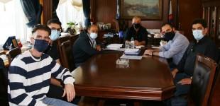 Συνάντηση Γ.Μώραλη με την Αρμενική Εθνική Επιτροπή Δυτ.Αττικής