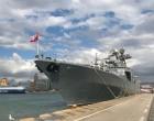Εντυπωσιάζει η ομάδα πολεμικών πλοίων το λιμάνι του Πειραιά