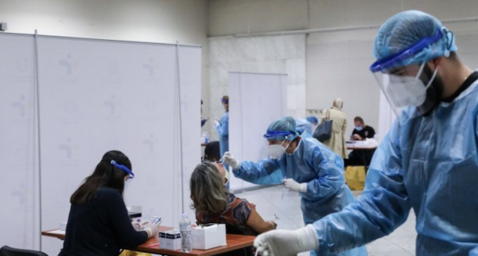Κορωνοϊός: 882 νέα κρούσματα -15 θάνατοι, 90 διασωληνωμένοι