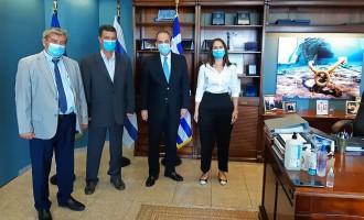 ΣΙΤΕΣΑΠ: Στενή συνεργασία με τον υπουργό Ναυτιλίας
