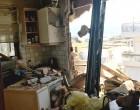Νέο Ηράκλειο: Δείτε το διαμέρισμα στο οποίο τραυματίστηκε σοβαρά γυναίκα