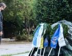 Πολυτεχνείο: Κατάθεση στεφάνου από τον Κυριάκο Μητσοτάκη – «Το αίτημα για ελευθερία συμπληρώνεται από την υπευθυνότητα»