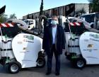 Τρεις νέες, σύγχρονες αναρροφητικές σκούπες στον Δήμο Μοσχάτου-Ταύρου