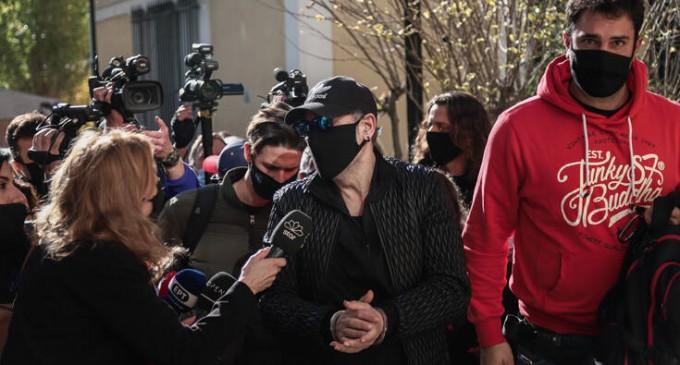 Αναβλήθηκε η δίκη του Νότη Σφακιανάκη