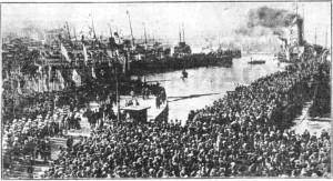 αγιασμός υδάτων 6 Ιανουαρίου 1934