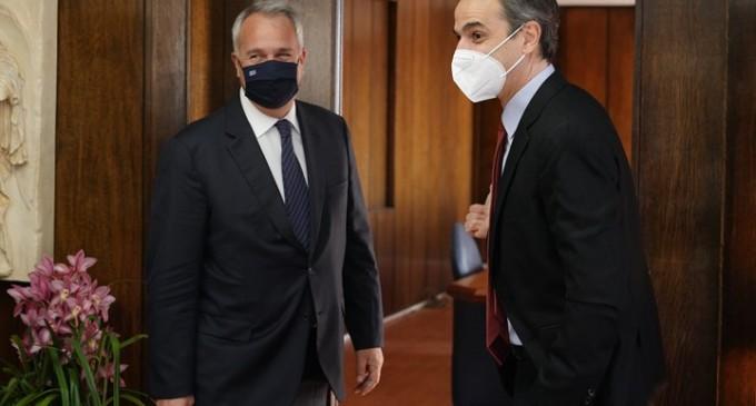Στο υπουργείο Εσωτερικών ο Μητσοτάκης: Θα αλλάξουμε το σύστημα της απλής αναλογικής στην αυτοδιοίκηση