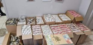 Συνελήφθησαν 2 άτομα για διακίνηση λαθραίων καπνικών προϊόντων