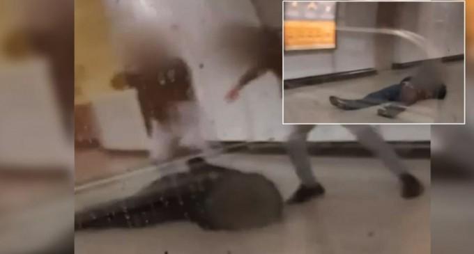 Επίθεση στον σταθμάρχη του Μετρό: Οι δύο τραμπούκοι του έστησαν καρτέρι – Δείτε βίντεο