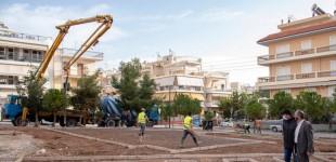 Πάρκινγκ νταλικών μετατρέπεται σε σύγχρονη πλατεία στην Νίκαια