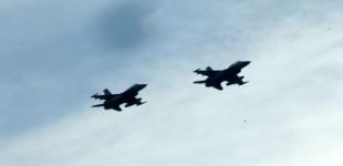 Πτήσεις δύο ζευγών τουρκικών F-16 πάνω από ελληνικά νησιά