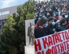 Ανακοίνωση ΑΠΘ για κατάληψη και επεισόδια: «19 από τους συλληφθέντες δεν ανήκουν στην κοινότητα του Πανεπιστημίου»