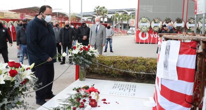 Ολυμπιακός: Τίμησαν τη μνήμη των θυμάτων της Θύρας 7