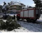 Κακοκαιρία «Μήδεια»: Πάνω από 2.700 κλήσεις δέχθηκε η πυροσβεστική στην Αττική
