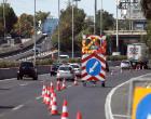 Μεγάλο μποτιλιάρισμα στην Αττική Οδό – Έπεσαν υλικά από φορτηγό