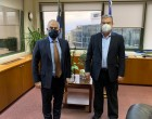 Συνάντηση του Ανδρέα Ευθυμίου με τον Υφυπουργό Περιβάλλοντος, Χρήστο Ταγαρά
