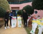 Κάδοι ανακύκλωσης στις αθλητικές εγκαταστάσεις  του Δήμου Πειραιά