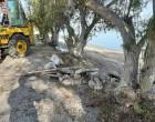 Συνεχίζει τις παρεμβάσεις στις παραλίες του νησιού ο Δήμος Σαλαμίνας