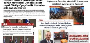 Οργή από τουρκικά ΜΜΕ: «Σκάνδαλο από Δένδια, δεν αλλάζουν οι Έλληνες!»