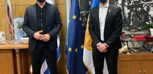 Συνάντηση Γ.Μώραλη – Κ.Ζέρβα στο Δημαρχείο Θεσσαλονίκης