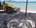 Συνεχίζει ο Δήμος Σαλαμίνας τις παρεμβάσεις καθαριότητας και βελτίωσης των παραλιών του νησιού