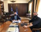 Συνάντηση Δημάρχου Πειραιά Γιάννη Μώραλη με τον αναπληρωτή Υπουργό  Εσωτερικών Στέλιο Πέτσα