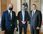 Συνάντηση Μπουτσικάκη και της Κοινοβουλευτικής Αντιπροσωπείας της Πολωνίας με το Δήμαρχο Κώστα Μπακογιάννη