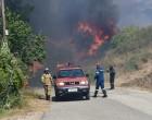 Εκτός ελέγχου η μεγάλη φωτιά στην Πάτρα – Κάηκαν σπίτια, εκκενώθηκε το Σούλι