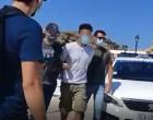 Φολέγανδρος: Η μεταφορά του 30χρονου δολοφόνου της Γαρυφαλλιάς στη Νάξο