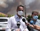 Μητσοτάκης για φωτιές: Ζητώ συγγνώμη για αστοχίες – Θα δοθούν 500 εκατ. για Αττική και Εύβοια