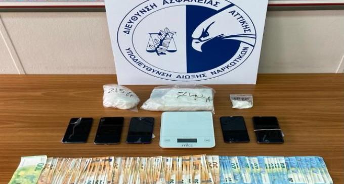 Εξαρθρώθηκε εγκληματική οργάνωση που διακινούσε κοκαΐνη, στην ευρύτερη περιοχή της Αττικής