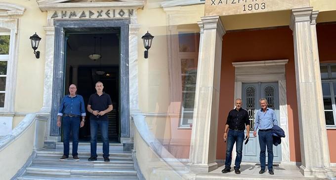 Διήμερη επίσκεψη του Δημάρχου Πειραιά Γιάννη Μώραλη στη Σάμο