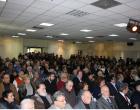 Πλήθος κόσμου στην κοπή της πρωτοχρονιάτικης πίτας του Δήμου Βριλησσίων