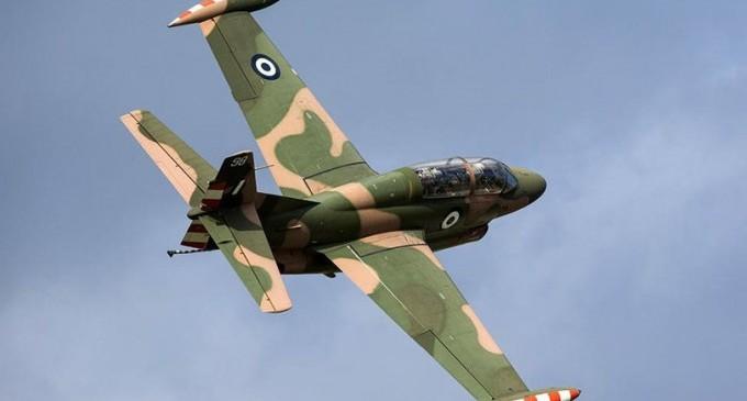 Κατέπεσε αεροσκάφος Τ-2 της Πολεμικής Αεροπορίας