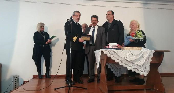 Κοπή πίτας Εθελοντικού Σώματος Σαλαμίνας και βράβευση του Διοικητή Ναυστάθμου Σαλαμίνας
