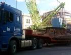 Αποσυναρμολογήθηκε ο ΜΕΤΡΟΠΟΝΤΙΚΑΣ – Πώς στήθηκε η «επιχείρηση» μεταφοράς του από τον Πειραιά (ΑΠΟΚΛΕΙΣΤΙΚΕΣ ΦΩΤΟ)