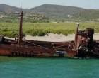Λακωνία: Αυτό είναι το πλοίο φάντασμα που μαγεύει τους τουρίστες -Η άγνωστη ιστορία του