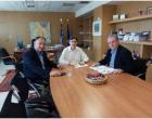 Η Επαγγελματική – Τεχνική Εκπαίδευση και η σύνδεση επιχειρήσεων με το Πανεπιστήμιο Δυτ. Ατικής τα θέματα συζήτησης του Β.Ε.Π. με τον Υφυπουργό Παιδείας