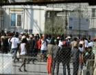 Νέα επεισόδια στη Μόρια: Μετανάστες προκάλεσαν φθορές μετά την απόρριψη ασύλου
